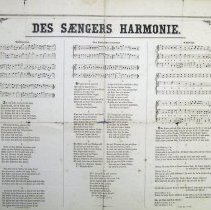 Image of Samuel K. Cassel musical broadside