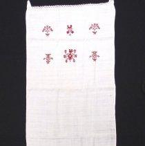Image of Jonas L. Alderfer towel, 1898
