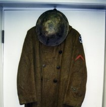 Image of World War I Soldier's Uniform -
