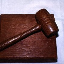 Image of Block, Gavel - 2003.26.1
