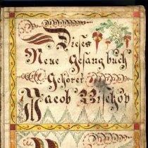 Image of Jacob Bishop bookplate, ca. 1835