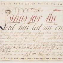 Image of Vorschrift by Henry G. Johnson, 1843