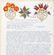 Image of Decorated manuscript  by John D. Souder, ca. 1939