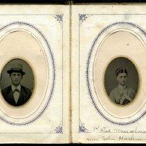 Image of Katie Oberholtzer (Frederick) album, 1875