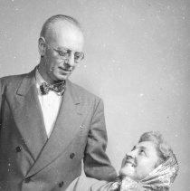 Image of Freeman & Nora Moyer Swartz, ca. 1950
