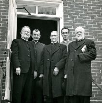 Image of Ministers of Indian Creek Church of the Brethren, ca. 1952