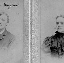 Image of Edwin & Lizzie Meyers Meyers, ca. 1900