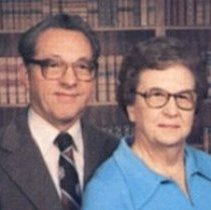 Image of Henry & Evelyn Steltz Bower, ca. 1984