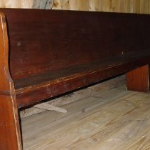 Image of Bench - Bench, Meetinghouse