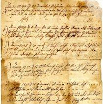 Image of John and Elizabeth Hall Horning family register
