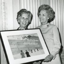 Image of Josephine Weiner  and Pat Nixon
