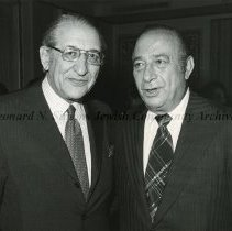 Image of Max M. Fisher (left) and Paul Zuckerman