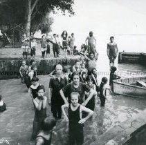 Image of Fresh Air Society Campers Swimming, 1923