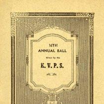 Image of Kovler & Volyner Progressive Aid Society Ball, 1940