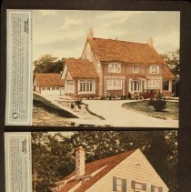 Image of 2000.48.2.4 - COLOR PHOTOGRAVURE OF A HOME IN ENGLEWOOD, NEW JERSEY