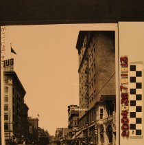 Image of 2004.367.1.13 - BROADWAY AT SEVENTH, LOS ANGELES, ca. 1910s.