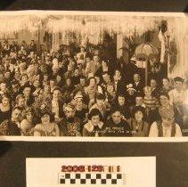"Image of 2008.128.1.1 - ""Bal Masque, Wilshire Apts., 24 February 1921"""