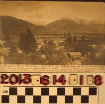 Image of 2013.614.1.8 - Thirteen (13) photographs of San Gabriel Canyon camps and river scenes, 1900-1920s