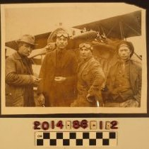 Image of 2014.86.1.2 - Four pilots on trip around the world