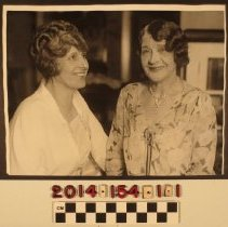 Image of 2014.154.1.1 - Aimee Semple McPherson and Minnie Kennedy