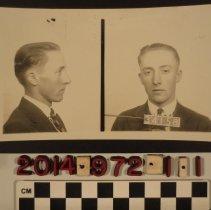 Image of 2014.972.1.1 - A criminal mug shot, Gordon Phillips