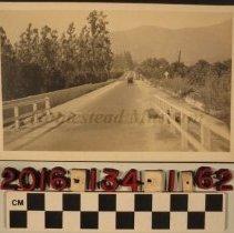 Image of 2016.134.1.62 - A real photo postcard, Azusa Avenue, Glendora, California, ca. 1919