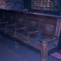 Image of 1971.012.0001.1 - Bench
