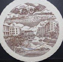 Image of 2001.035.0009 - Plate, Commemorative