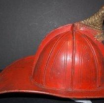 Image of W.83.80.0465 - Helmet, Firefighter's