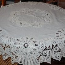 Image of 1997.021.0040 - Tablecloth