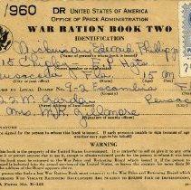 Image of World War Two Ration Book