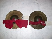 Image of 1989.002.098 a Pair of Cymbals