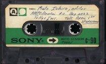 Image of recording of Muto Ichiro