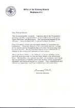 Image of Attorney General's Letter