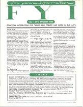 Image of Summer 1985 Vol. 1, No. 3 16 pp.