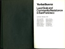 Image of Yerba Buena : land grab and community resistance in San Francisco.