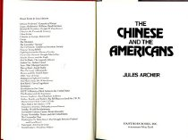 Image of 327.073-A - This book sheds light on the history of the Chinese-American relationship.