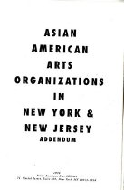 Image of 700-A - This is a catalogue of Asian American arts organizations in New York and New Jersey.