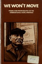 Image of 801.8-W - This book is about the struggle of the International Hotel, which is one of corporate property rights versus the rights of common people for low cost housing.