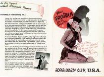 Image of Forbidden CITY U.S.A  Pamphlet 1