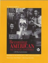 """Image of 370-F - """"Becoming American: The Chinese Experience"""" is a production of Public Affairs Television, which is divided into three programs. This viewer's guide summarizes the TV program and helps viewers to understand Chinese American history better."""
