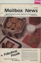 Image of Scandinavia's monthly publication for food enthusiasts. Vol. XXIX, No.7, July 1984