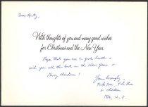 Image of 2007.032.038 - Card, Greeting
