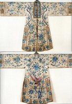 Image of Reversible robe for an immortal (front and back)