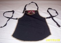 Image of Black silk intimate top (du dou)