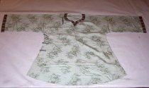 Image of Light green silk shirt