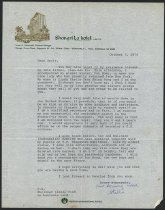 Image of 2007.032.191 - Letter