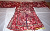 Image of Fairy goddess robe (red side back)