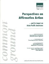 Image of Perspectives on Affirmative Action, Front Cover