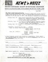Image of May 1984 5 pp. (5 staple-bound, single-sided pages)